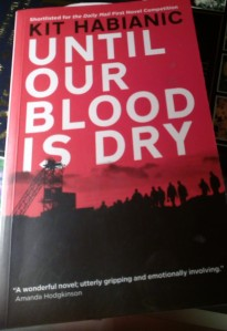 cover Until our blood is dry