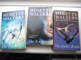 Minette Walters books AJ Waines post
