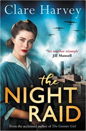 Clare Harvey The Night Raid cover
