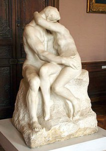 Maggie Ritchie -The Kiss sculpture
