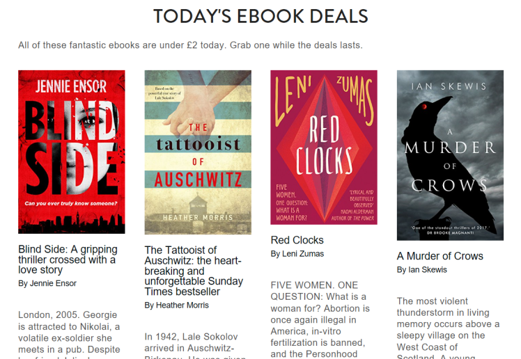 Lounge Books Todays ebook deals with BS 6 Mar 2018.PNG