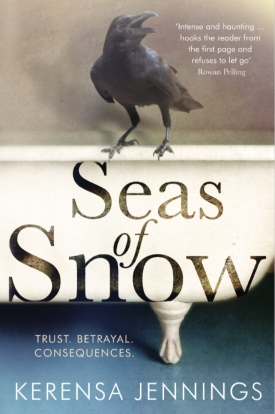 Seas of Snow Paperback Cover Kerensa Jennings