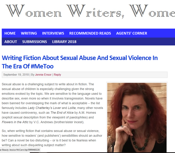 Writing Fiction About Sexual Abuse And Sexual Violence In